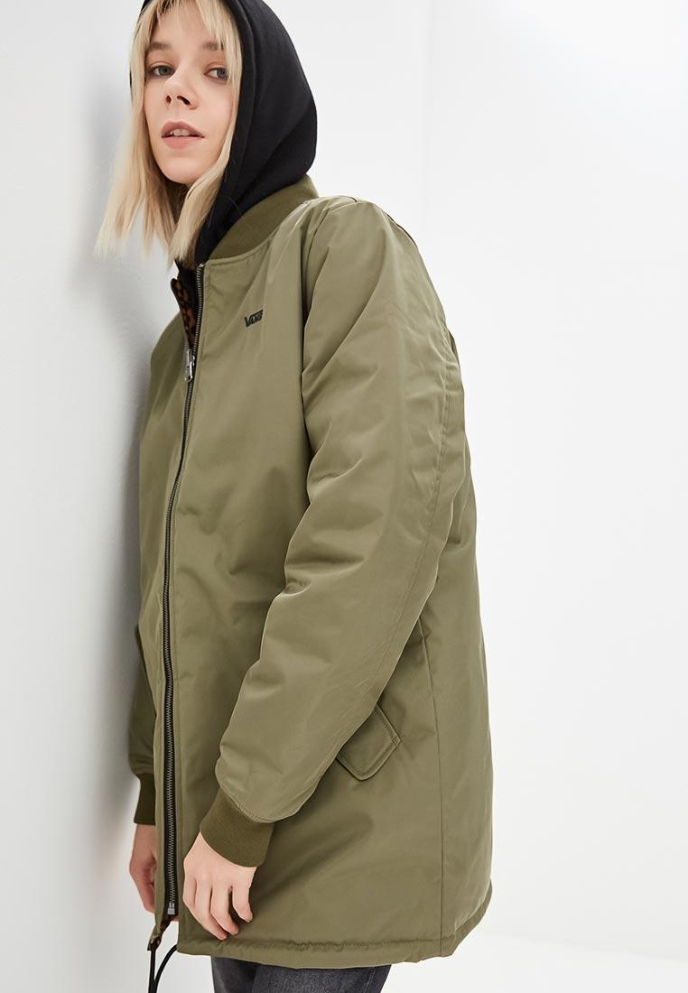 Купить Куртка утепленная Vans - цвет: хаки, Вьетнам, VA984EWCAKT5