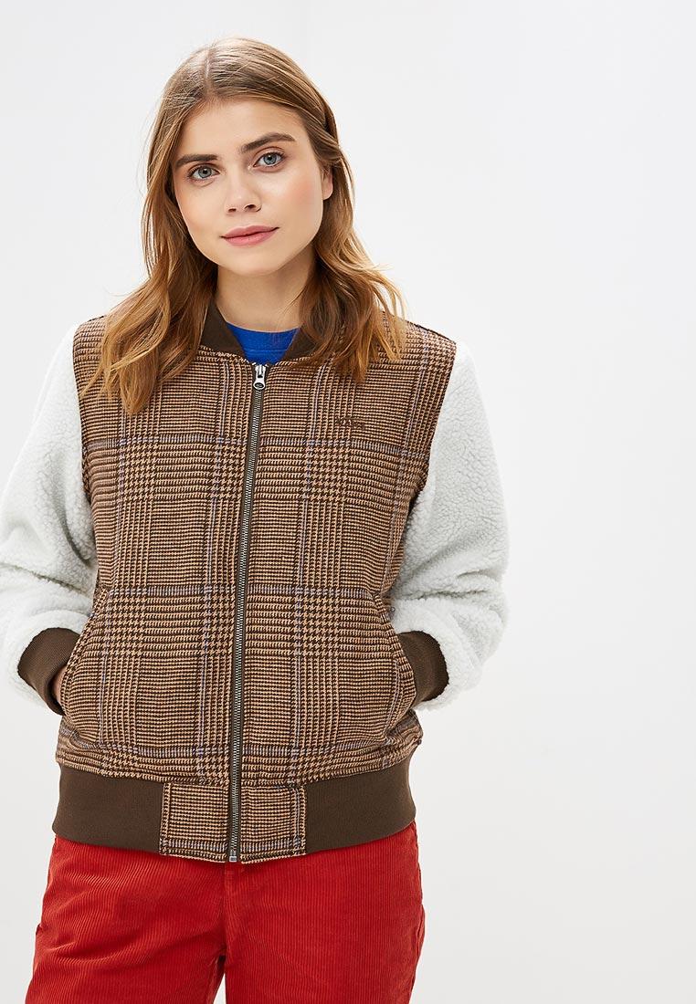 Купить Куртка утепленная Vans - цвет: коричневый, красный, Китай, VA984EWCAKT7
