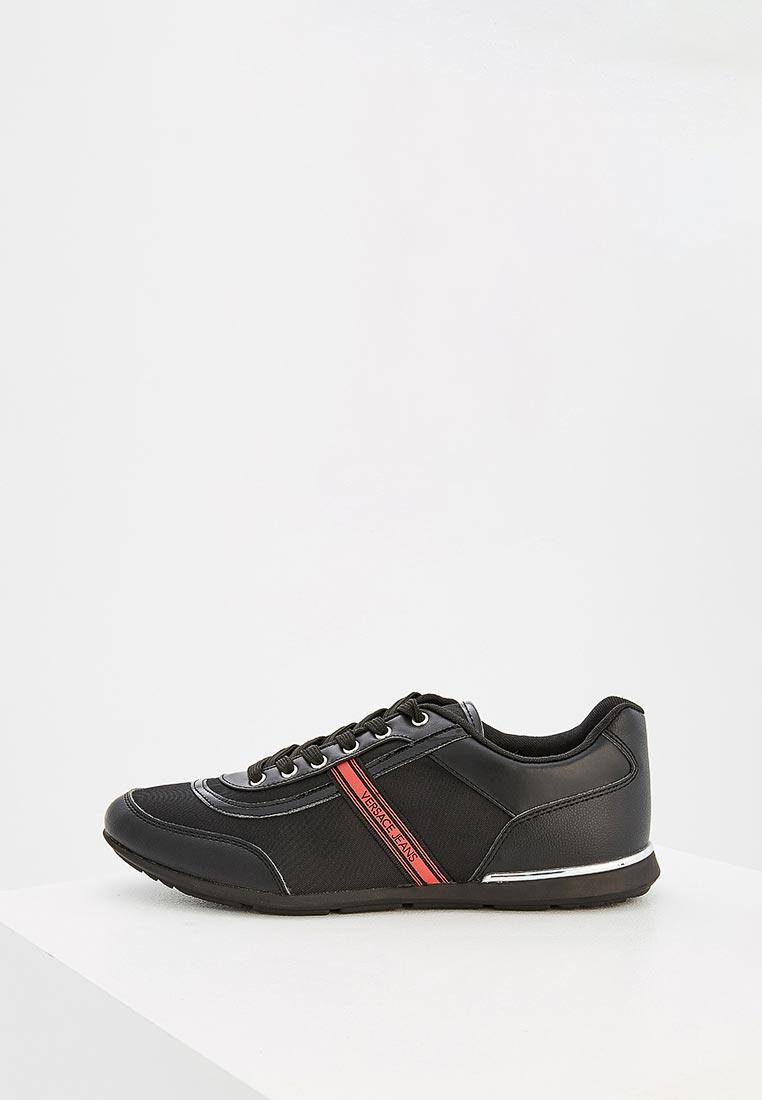 Купить Кроссовки Versace Jeans - цвет: черный, Китай, VE006AMZIB59