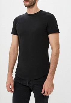 28551cfc0a5b0 Футболка, Aarhon, цвет: черный. Артикул: AA002EMCVLB1. Одежда / Футболки и