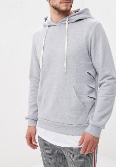 7102efec44a05 Худи, Aarhon, цвет: серый. Артикул: AA002EMFHJC8. Одежда / Толстовки и