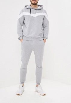 77e643c8 Костюм спортивный, Aarhon, цвет: серый. Артикул: AA002EMFHJE7. Одежда /  Спортивные