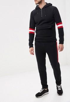 d08bf1cbe653 Костюм спортивный, Aarhon, цвет: черный. Артикул: AA002EMFHJF6. Одежда /  Спортивные
