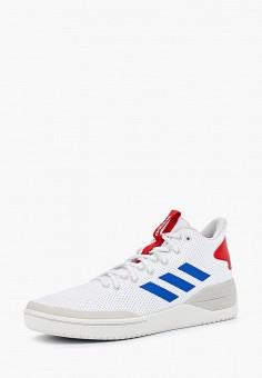 Кроссовки, adidas, цвет  белый. Артикул  AD002AMCDJH4. Обувь   Кроссовки и 3b1e64bb66b