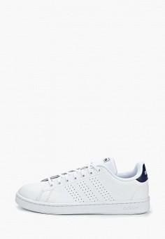 cebbcc86 Кеды, adidas, цвет: белый. Артикул: AD002AMEEFK4. Обувь / Кроссовки и