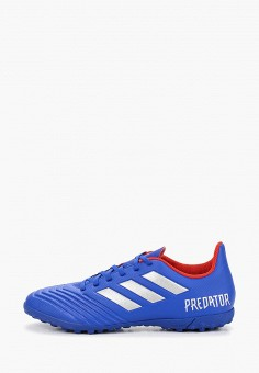 f0282afe Бутсы, adidas, цвет: синий. Артикул: AD002AMEEFO1. Обувь / Кроссовки и