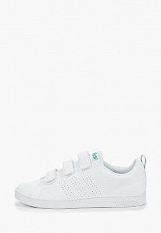 94ad6e8a Кеды, adidas, цвет: белый. Артикул: AD002AMEEGF6. Обувь / Кроссовки и