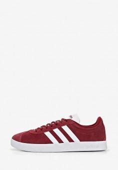 c14e2158 Кеды, adidas, цвет: бордовый. Артикул: AD002AMEGRI2. Обувь / Кроссовки и