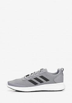 c1545a49 Кроссовки, adidas, цвет: серый. Артикул: AD002AMEGRJ1. Спорт / Бег /