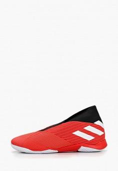 cc5e8c60 Бутсы зальные, adidas, цвет: красный. Артикул: AD002AMFKBK3. Обувь /  Кроссовки