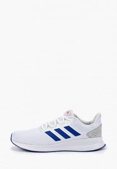 2055e3e5 Кроссовки, adidas, цвет: белый. Артикул: AD002AMFKBR0. Обувь / Кроссовки и