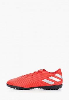 73940edd Шиповки, adidas, цвет: красный. Артикул: AD002AMFKBW8. Обувь / Кроссовки и