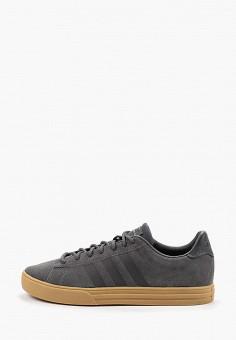 0aff6b8be Кеды, adidas, цвет: серый. Артикул: AD002AMFKSL8. Обувь
