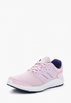 Кроссовки, adidas, цвет  розовый. Артикул  AD002AWALWW3. Спорт   Бег 8450a7ee704