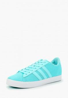 Кеды, adidas, цвет  голубой. Артикул  AD002AWDKPD3. Обувь   Кроссовки и 017ea7ba88f