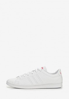 Кеды, adidas, цвет  белый. Артикул  AD002AWEEGI4. Обувь   Кроссовки и 6e10bb12479