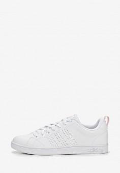 f8a272e0 Кеды, adidas, цвет: белый. Артикул: AD002AWEEGR3. Обувь / Кроссовки и