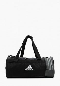 2c12b97d691b Сумка спортивная, adidas, цвет: черный. Артикул: AD002BUALSV1. Спорт /  Фитнес
