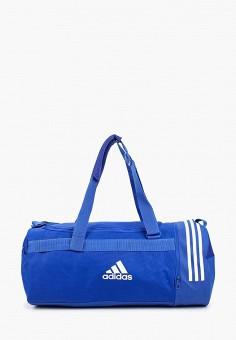 fe031ac87dfb Сумка спортивная, adidas, цвет: синий. Артикул: AD002BUEEDA9. Аксессуары /  Сумки