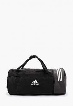 535bc145 Сумка спортивная, adidas, цвет: черный. Артикул: AD002BUFKNK7. Спорт / Все