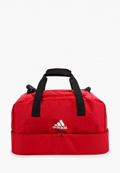 22797886991b Сумка спортивная, adidas, цвет: красный. Артикул: AD002BUFKRM4. Аксессуары  / Сумки