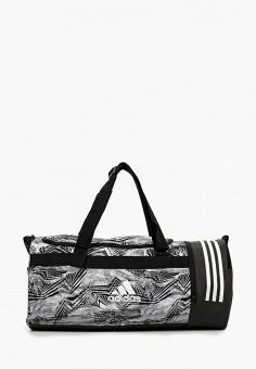 65a16bb8e196 Сумка спортивная, adidas, цвет: черный. Артикул: AD002BUFKRM9. Аксессуары /  Сумки