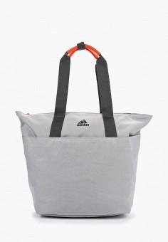 17f39f632920 Сумка спортивная, adidas, цвет: серый. Артикул: AD002BWFKNP7. Спорт / Фитнес