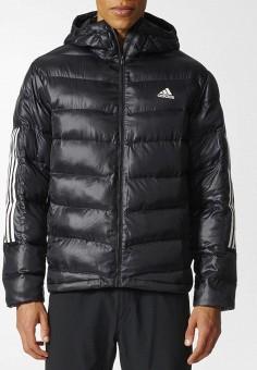 Куртка утепленная, adidas, цвет  черный. Артикул  AD002EMCDFW5. Спорт   Все ca26c7170d6