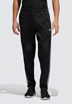 a6edb1d4d3b0 Брюки спортивные, adidas, цвет: черный. Артикул: AD002EMEEHK7. Одежда /  Брюки