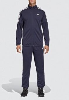 af997424 Костюм спортивный, adidas, цвет: синий. Артикул: AD002EMEEHP1. Спорт / Все