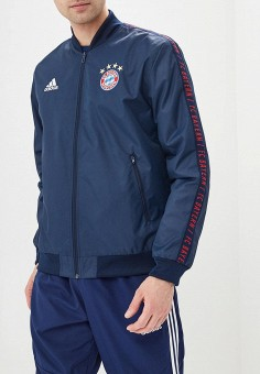Куртка, adidas, цвет  синий. Артикул  AD002EMEEHP3. Одежда   Верхняя одежда 30017065231