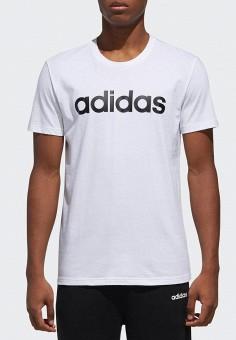 b948683c71b12 Футболка, adidas, цвет: белый. Артикул: AD002EMEGRM7. Спорт / Все спортивные