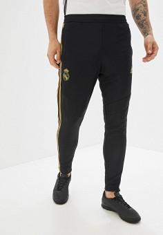 e970489fb812 Брюки спортивные, adidas, цвет: черный. Артикул: AD002EMFJYF9. Спорт /  Футбол