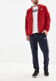 0d5850a3 Костюм спортивный, adidas, цвет: красный, синий. Артикул: AD002EMFJYK3.  Спорт