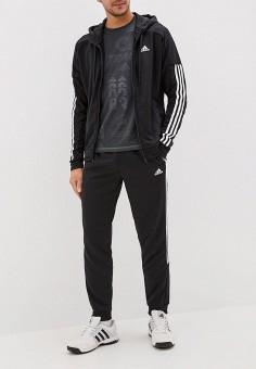f1dd2624 Костюм спортивный, adidas, цвет: черный. Артикул: AD002EMFJYK6. Одежда /  Спортивные