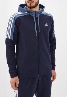 17c6303e Костюм спортивный, adidas, цвет: синий. Артикул: AD002EMFJYK7. Одежда /  Спортивные
