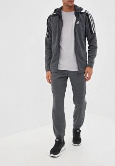 94bcdac9 Костюм спортивный, adidas, цвет: серый. Артикул: AD002EMFJYK8. Одежда /  Спортивные