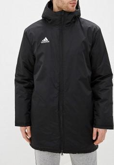 24cc6b9c6d70d2 Куртка утепленная, adidas, цвет: черный. Артикул: AD002EMFJYW6. Одежда /  Верхняя
