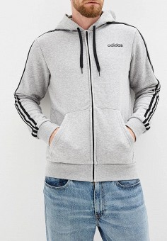6b74656e Толстовка, adidas, цвет: серый. Артикул: AD002EMFJZG8. Одежда / Толстовки и