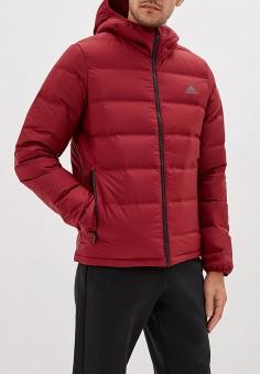 26cb20af Пуховик, adidas, цвет: бордовый. Артикул: AD002EMFKRT2. Одежда / Верхняя  одежда