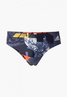 2300834a6419 Плавки, adidas, цвет: синий. Артикул: AD002EMFKSD5. Спорт / Плавание /