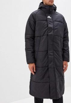 e5ee5ee1fdf795 Куртка утепленная, adidas, цвет: черный. Артикул: AD002EMQXA72. Одежда /  Верхняя