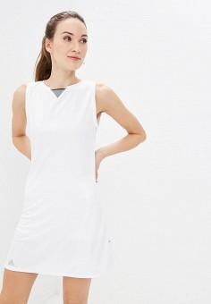 9983ed62ed6f2 Платье, adidas, цвет: белый. Артикул: AD002EWEEIP9. Спорт / Все спортивные