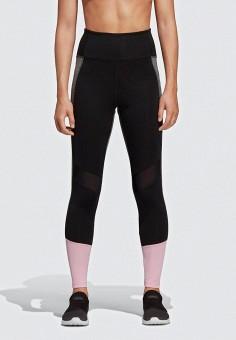 e31cc97f Тайтсы, adidas, цвет: черный. Артикул: AD002EWEEIR4. Спорт / Фитнес /