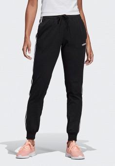 9587c7c1 Брюки спортивные, adidas, цвет: черный. Артикул: AD002EWEGRO2. Одежда /  Брюки