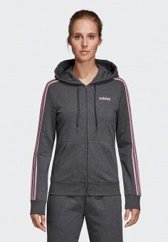 11b3e38e Толстовка, adidas, цвет: серый. Артикул: AD002EWEGRP0. Спорт / Фитнес /