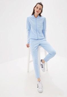 8d708867 Костюм спортивный, adidas, цвет: голубой. Артикул: AD002EWFKAC1. Одежда /  Спортивные