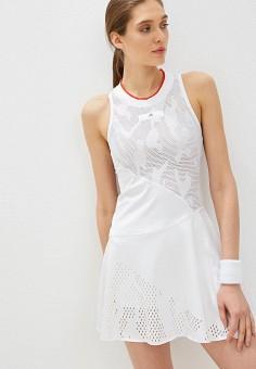 25f6e6c579266 Платье, adidas, цвет: белый. Артикул: AD002EWFKAH8. Одежда / Платья и
