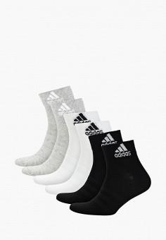 489c17d811686 Комплект, adidas, цвет: белый, серый, черный. Артикул: AD002FUFJZW2.