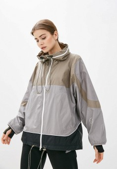 Ветровка, adidas by Stella McCartney, цвет: мультиколор. Артикул: AD031EWLWKJ2.